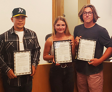 Casitas Water Adventure lifeguards recognized for lifesaving rescue