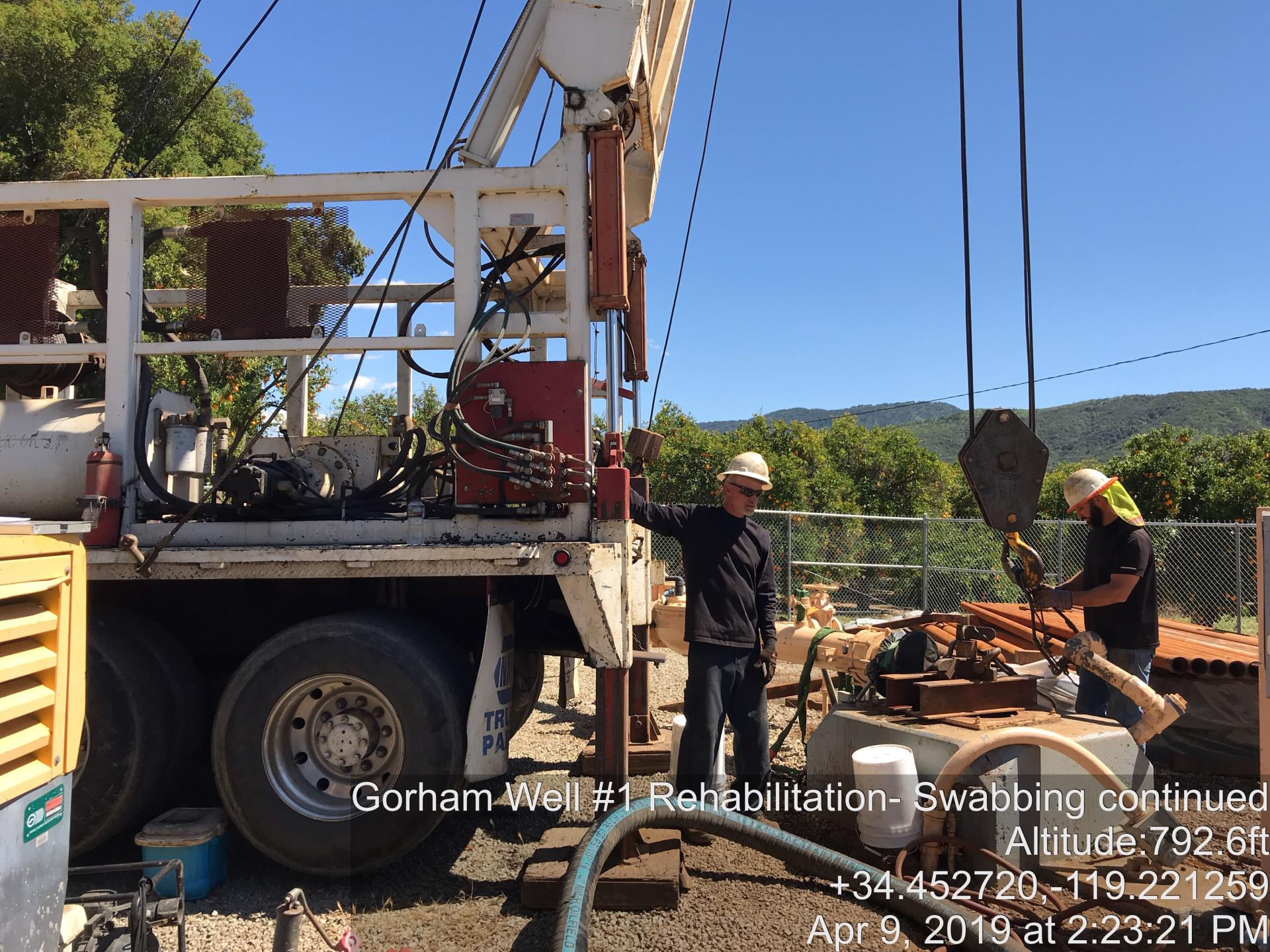 Project Update: Ojai Water System Well Rehabilitation